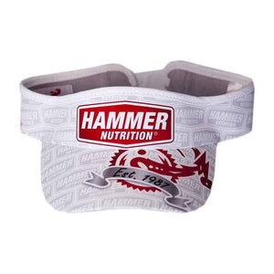 Headsweat Cap visor White - Hammer Nutrition UK Official Distributor