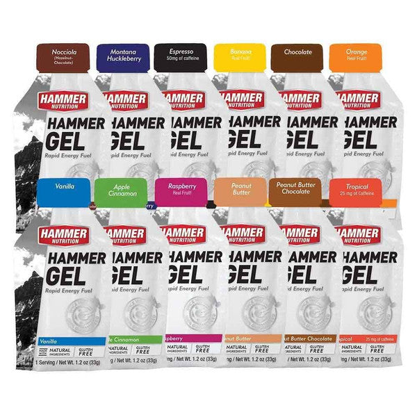 Gel Sampler Kit - Hammer Nutrition UK Official Distributor