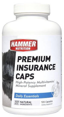 Premium Insurance Caps (Daily Essentials) - Hammer Nutrition UK Official Distributor