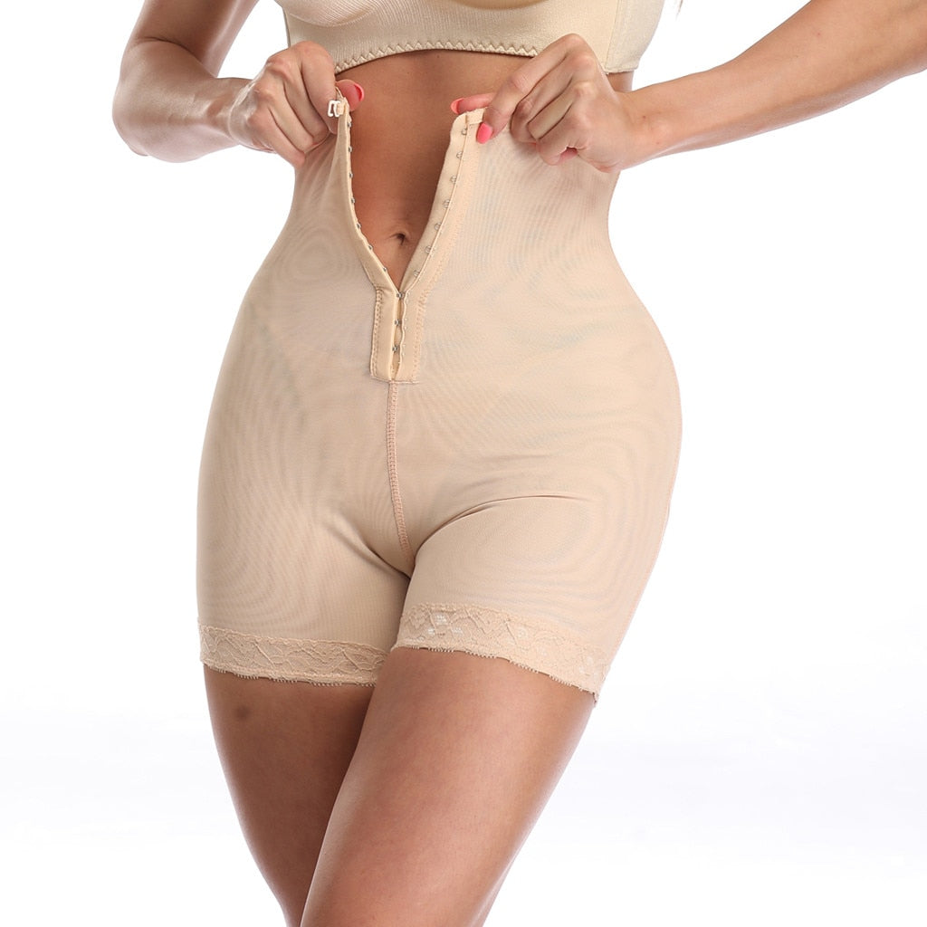 PREMIUM High Waist Compression Girdle Bodysuit BodyShaping Panties -HOT