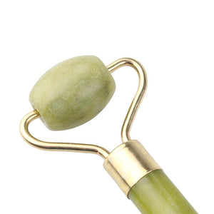 Natural Facial Beauty Massage Tool Jade Roller Face Thin Massager Natural Jade Massage Face-lift Wholesale & Drop Shipping