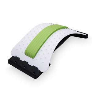 Back Massage Stretcher Fitness Equipment Relax Mate Stretcher Lumbar Support Spine Pain Relief