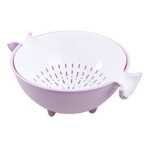 Dual Layer Wash Basket