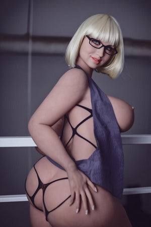 vittoria 163cm blonde curvy big boobs tpe wm bbw sex doll(11)
