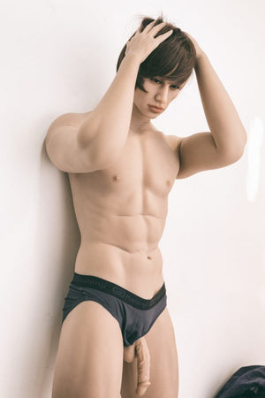patrick 175cm male brown hair male tpe wm gay boy sex doll(4)