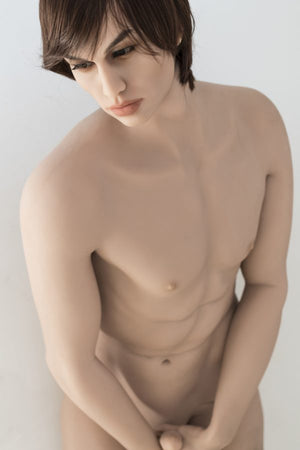 patrick 175cm male brown hair male tpe wm gay boy sex doll(8)