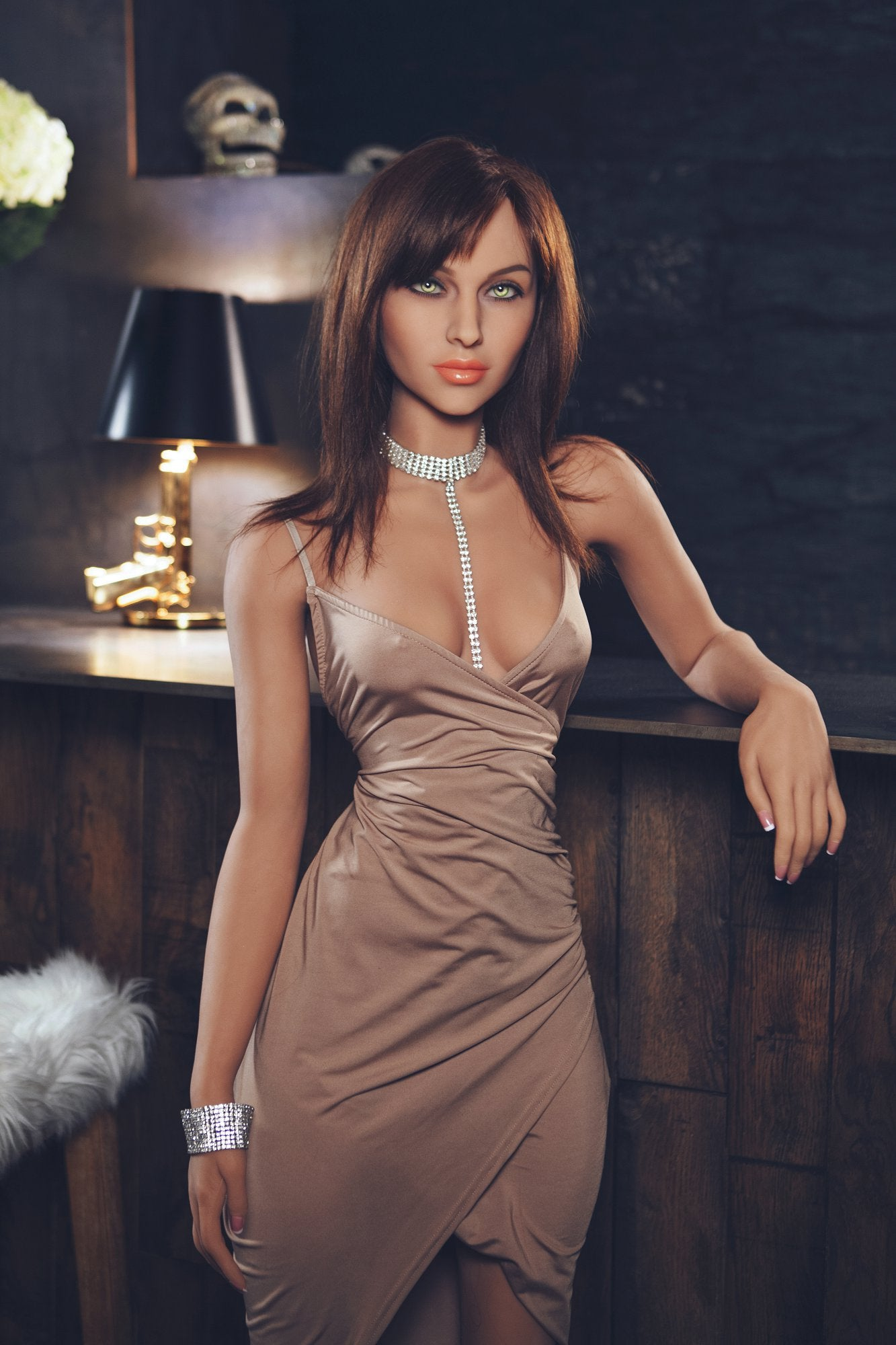 summer 162cm brown hair skinny flat chested tan skin tpe yl sex doll(13)