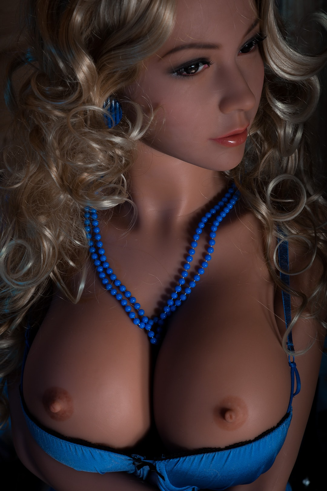 michaela 155cm blonde big boobs athletic tan skin tpe wm sex doll(9)