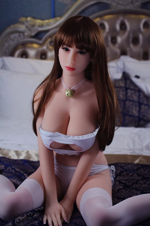 maia 161cm brown hair big boobs athletic tpe wm sex doll(5)