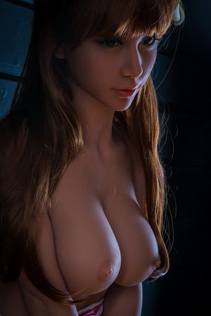 barbara 160cm medium tits athletic red hair tan skin tpe wm sex doll(8)
