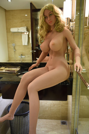 pascale 161cm blonde big boobs athletic tan skin tpe wm sex doll(8)