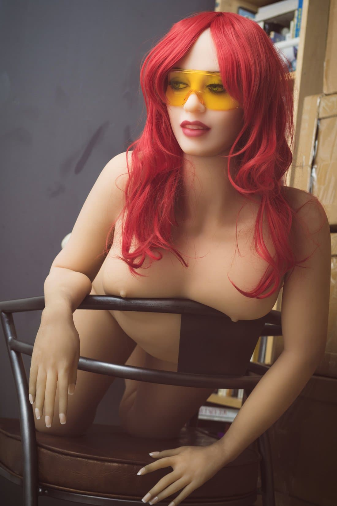 irina 162cm curvy medium tits athletic red hair tpe wm sex doll(11)