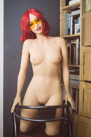 irina 162cm curvy medium tits athletic red hair tpe wm sex doll(9)