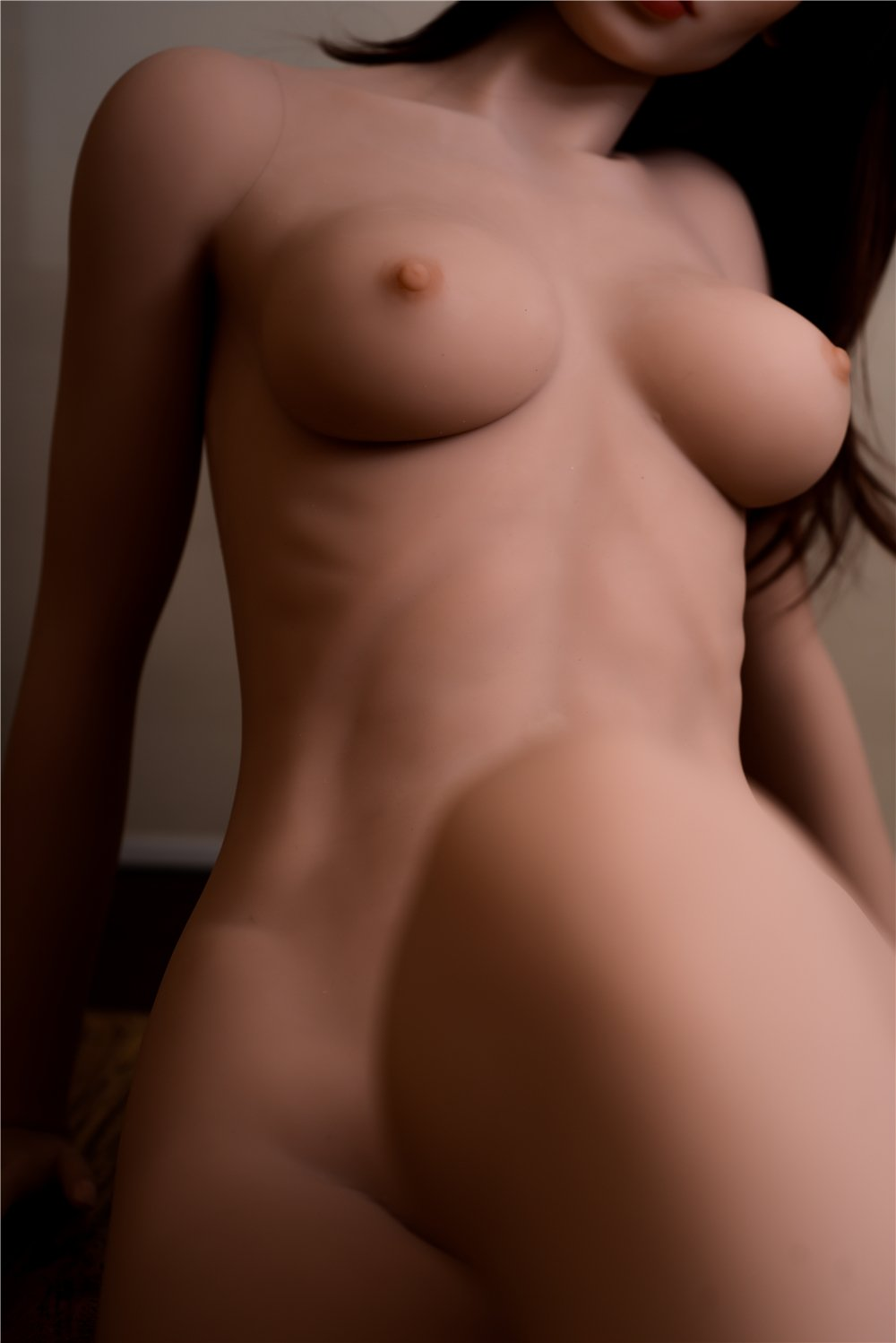 sharrie 168cm brown hair medium tits skinny red hair flat chested tpe asian sex doll(7)