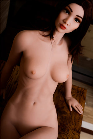 sharrie 168cm brown hair medium tits skinny red hair flat chested tpe asian sex doll(9)