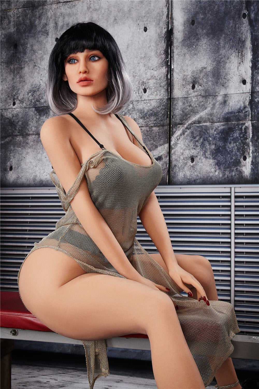 arlene 170cm black hair curvy medium tits tpe bbw sex doll