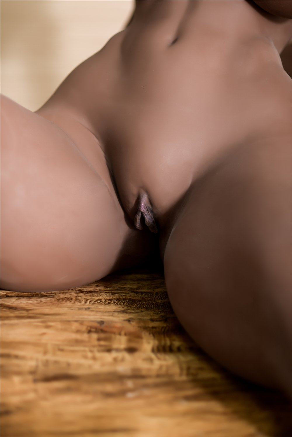adele 158cm dark skin tone black hair curvy big boobs best tpe sex doll(10)