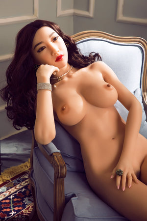 kenya 161cm black hair japanese medium tits skinny silicone asian sex doll(10)