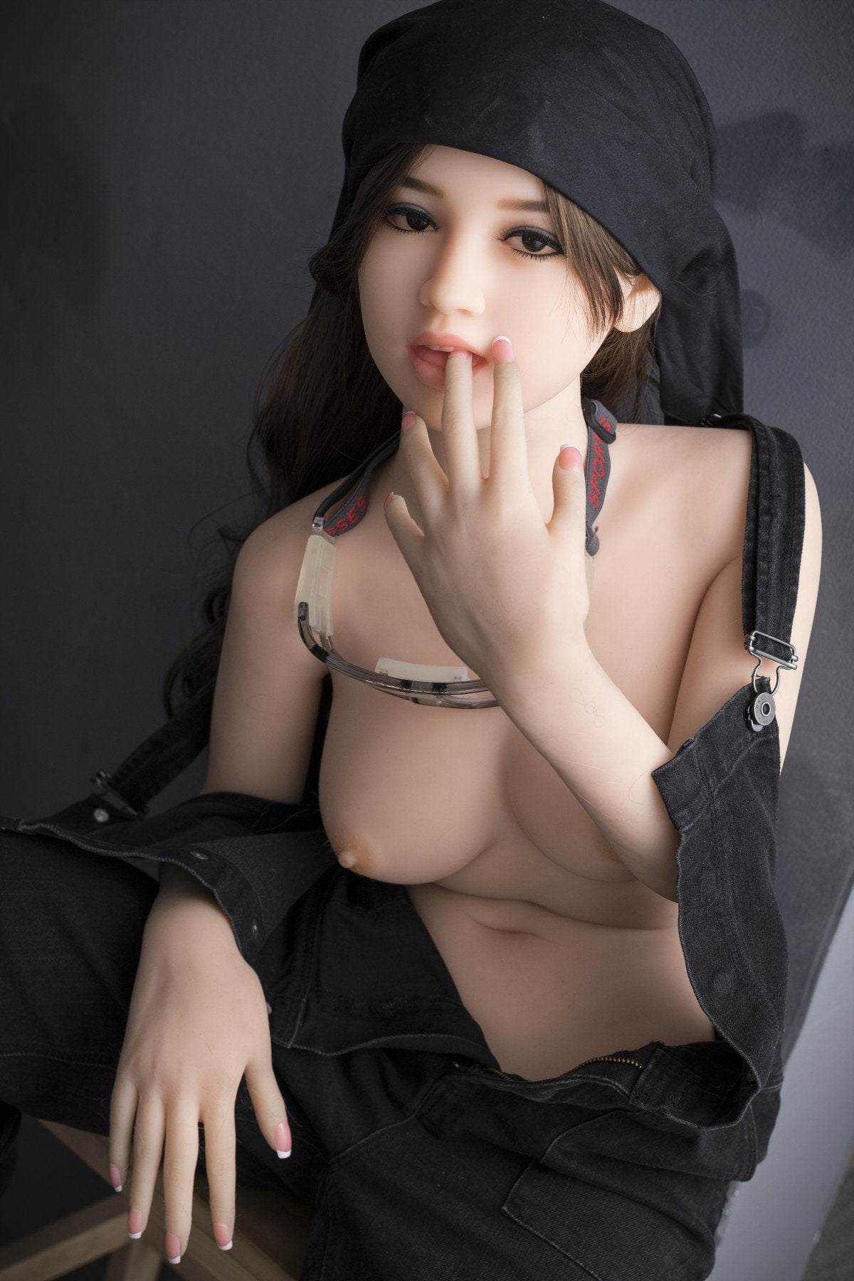 madolyn 145cm brown hair medium tits skinny tpe wm asian small sex doll(3)