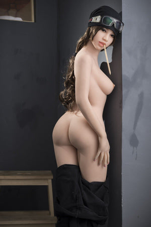 madolyn 145cm brown hair medium tits skinny tpe wm asian small sex doll(5)