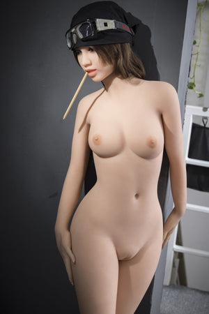 madolyn 145cm brown hair medium tits skinny tpe wm asian small sex doll(9)