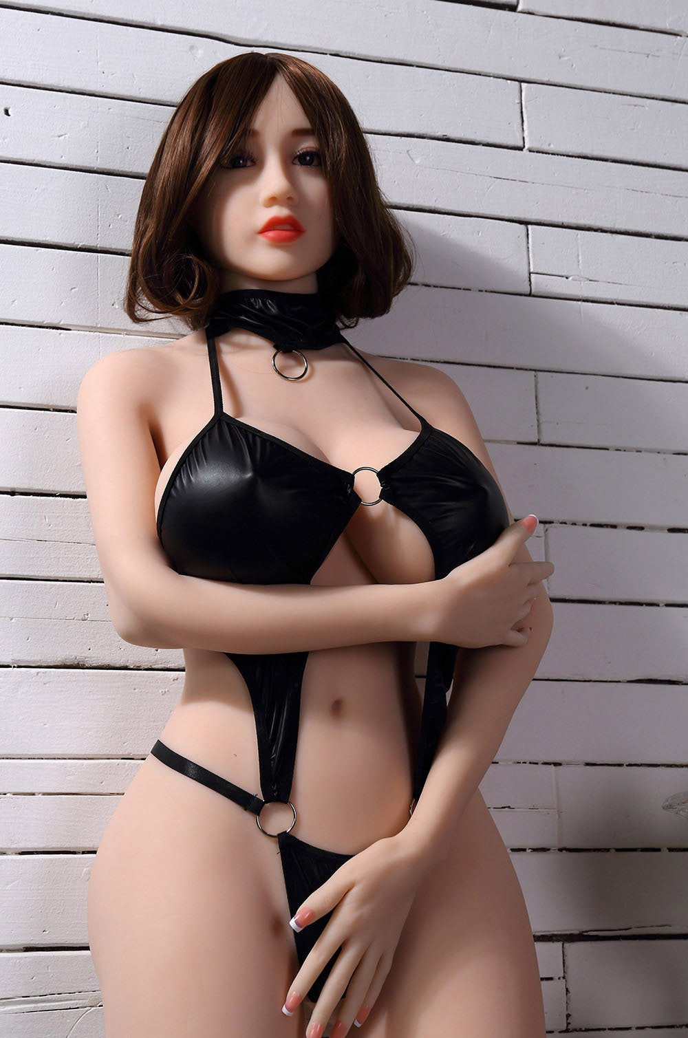 chloe 150cm brown hair curvy big boobs tpe wm asian small sex doll