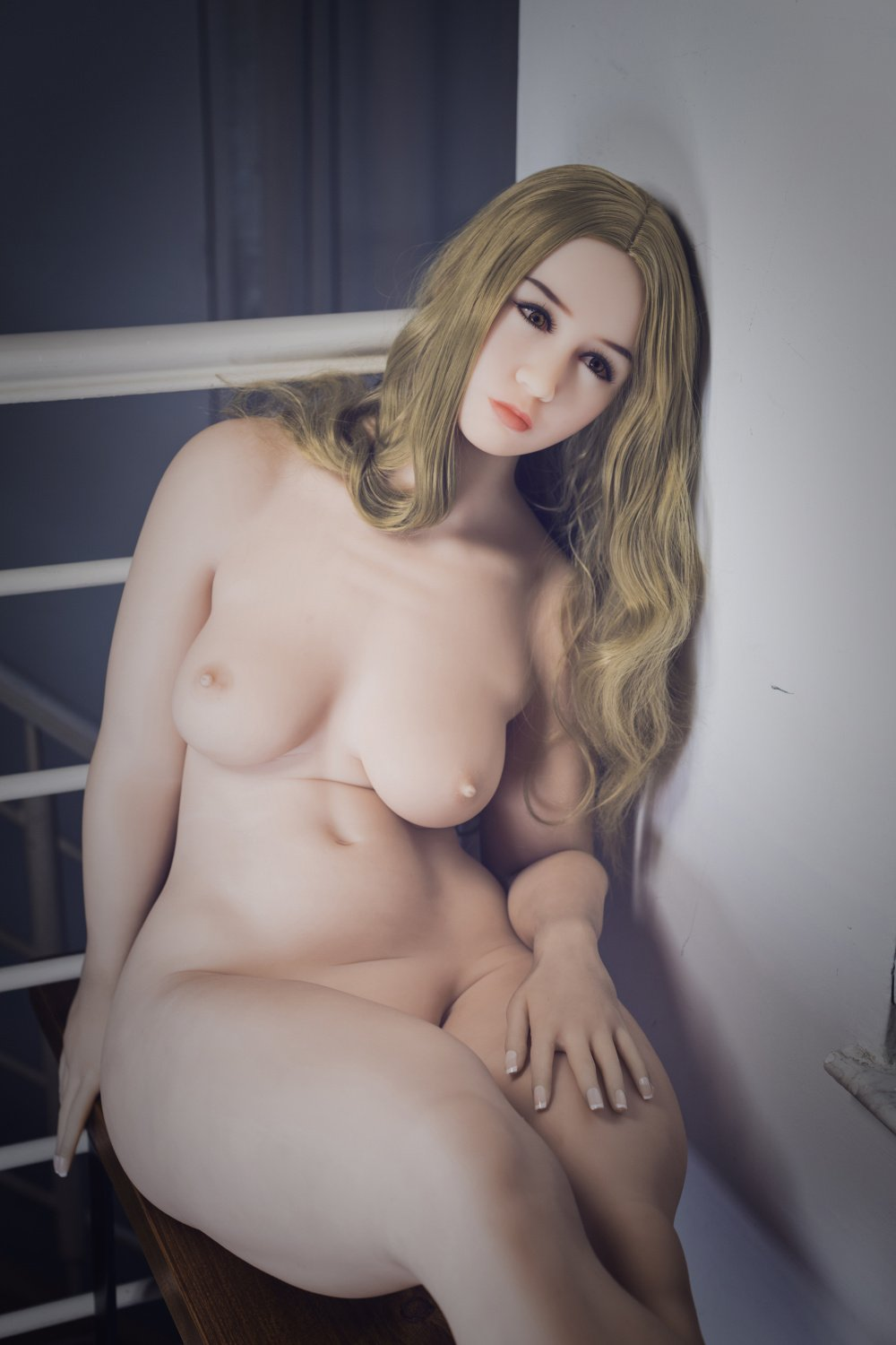 avalon 156cm brown hair curvy flat chested tpe wm bbw sex doll(5)