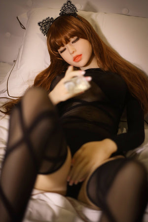 patsy 158cm brown hair medium tits skinny tpe wm asian sex doll(10)