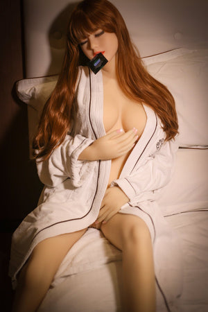 patsy 158cm brown hair medium tits skinny tpe wm asian sex doll(5)