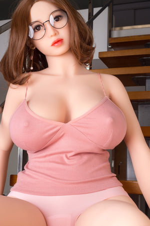 juliane 161cm brown hair curvy big boobs tpe wm bbw sex doll(2)
