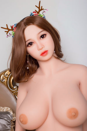 juliane 161cm brown hair curvy big boobs tpe wm bbw sex doll(5)