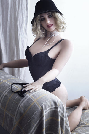 marla 162cm blonde skinny flat chested tpe wm sex doll(2)