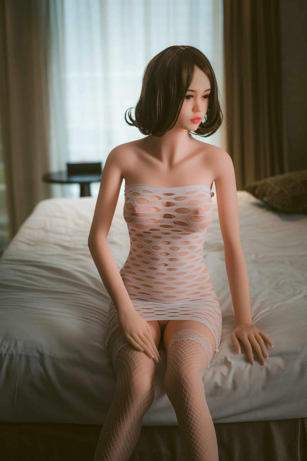 christine 163cm brown hair japanese medium tits skinny tpe wm sex doll