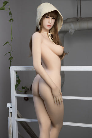 dolly 163cm brown hair japanese medium tits skinny tpe wm asian sex doll(8)