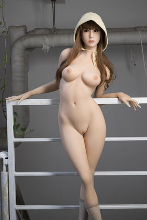 dolly 163cm brown hair japanese medium tits skinny tpe wm asian sex doll(9)