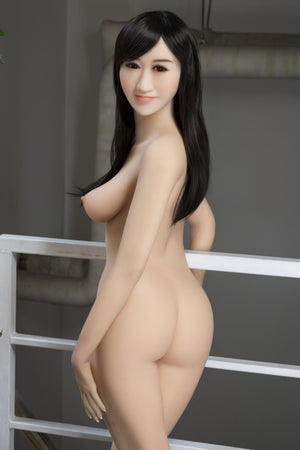 julissa 163cm brown hair japanese medium tits skinny tpe wm asian sex doll(9)