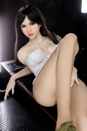 chyna 163cm black hair japanese big boobs athletic tpe wm sex doll(3)