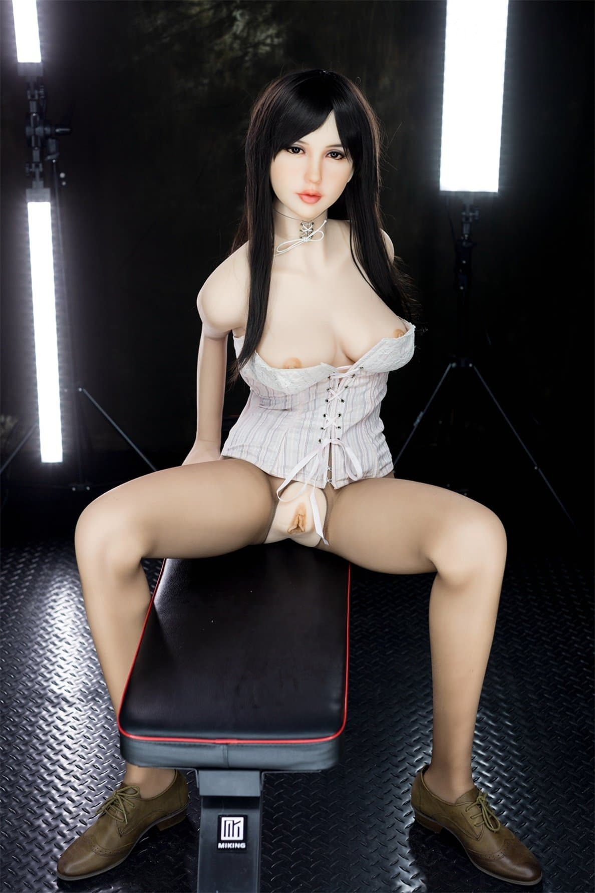chyna 163cm black hair japanese big boobs athletic tpe wm sex doll(9)