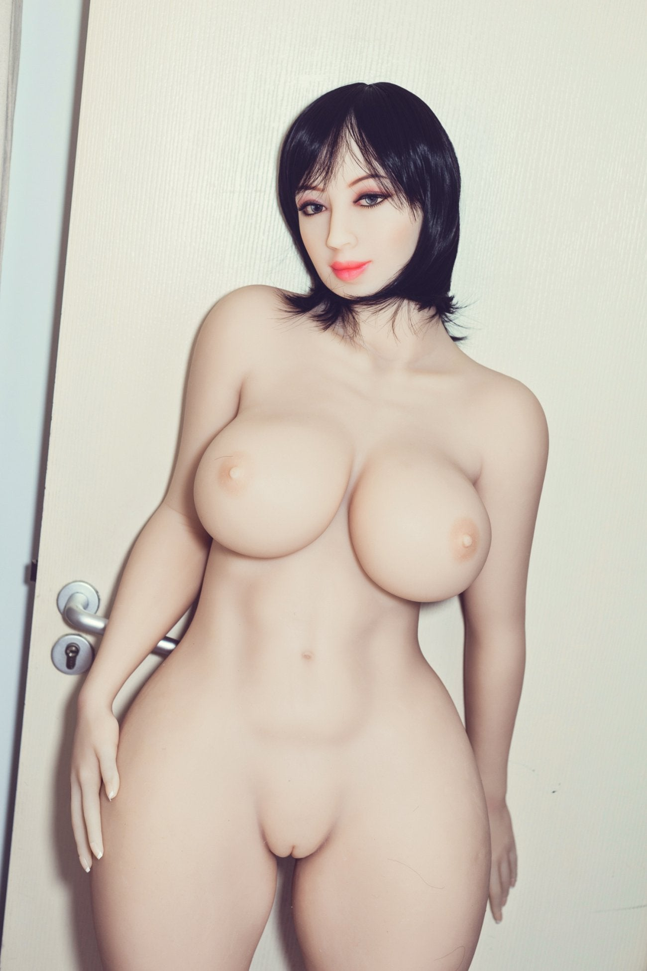 shar 163cm black hair curvy big boobs tpe wm bbw sex doll(6)