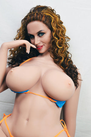 frances 163cm brown hair curvy big boobs athletic tpe wm bbw sex doll(10)