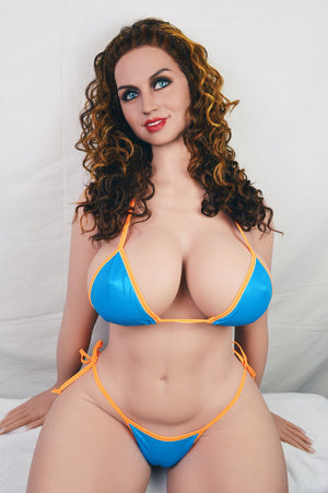 frances 163cm brown hair curvy big boobs athletic tpe wm bbw sex doll