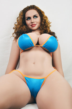 frances 163cm brown hair curvy big boobs athletic tpe wm bbw sex doll(3)