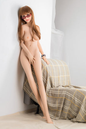 aunjanue 165cm brown hair japanese medium tits skinny tpe wm asian sex doll(10)