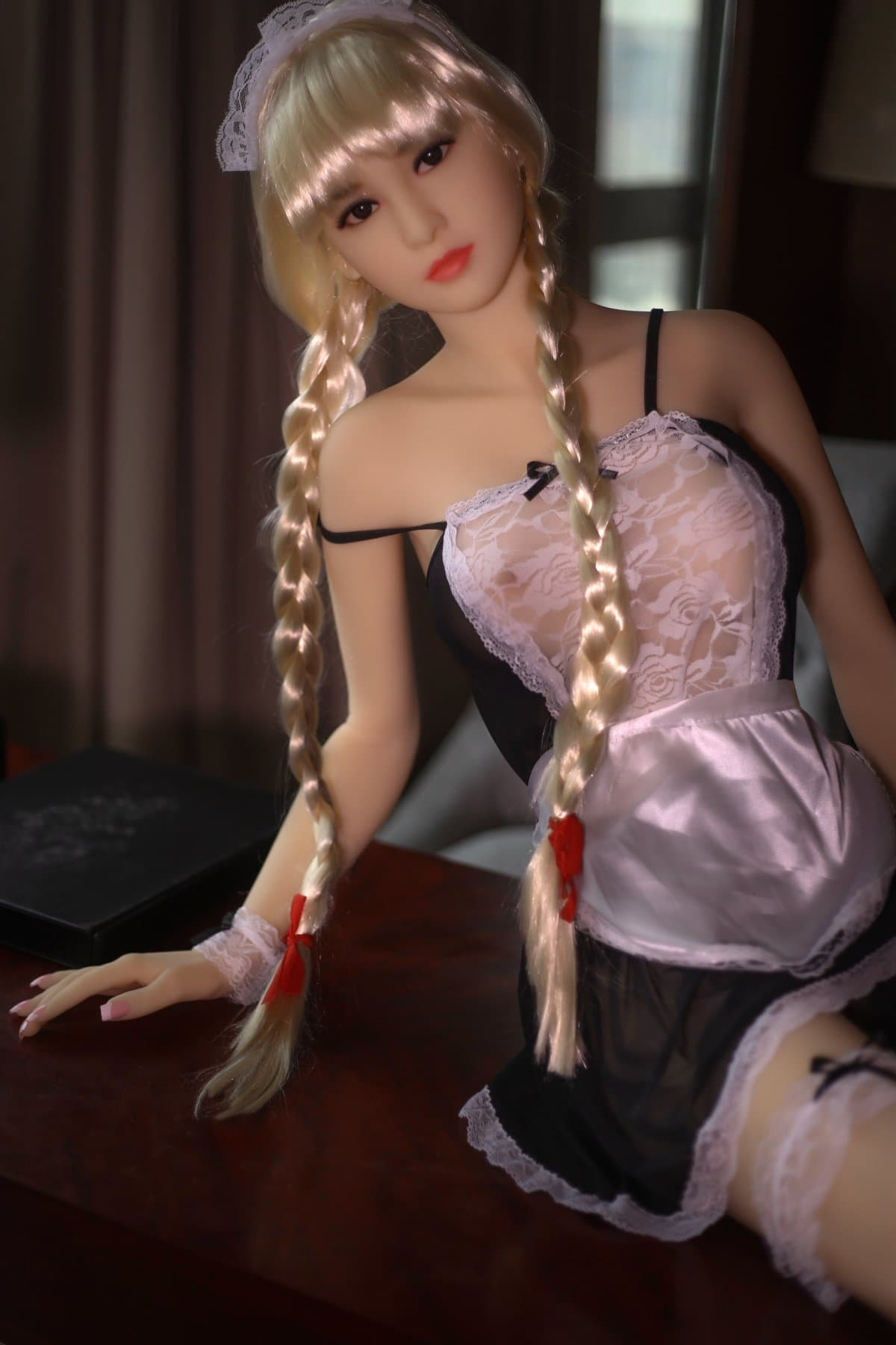 ariel 165cm blonde japanese medium tits skinny tpe wm asian sex doll(2)