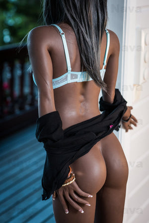 angie 168cm dark skin tone black hair skinny flat chested tpe wm sex doll(4)