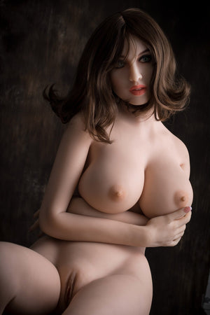 dawn 168cm brown hair big boobs athletic skinny tpe wm sex doll(7)