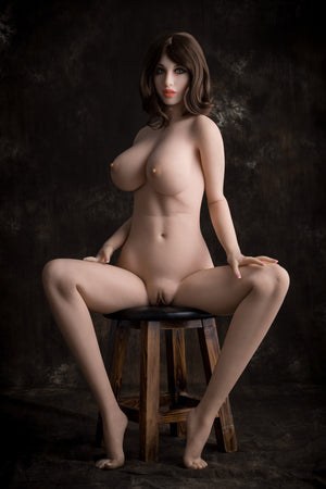 dawn 168cm brown hair big boobs athletic skinny tpe wm sex doll(9)