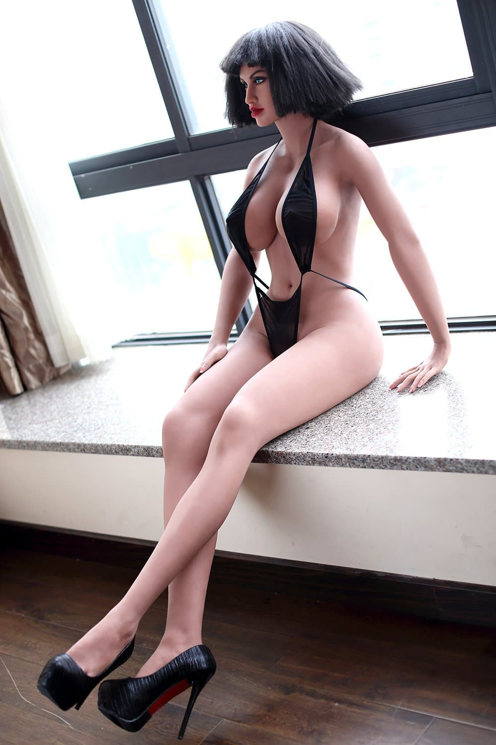 kimberly 168cm black hair big boobs athletic tpe wm sex doll(11)