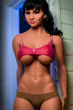 angela 170cm black hair big boobs athletic tan skin tpe wm sex doll(3)