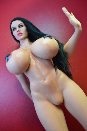 alley 170cm black hair giant massive tits athletic tpe wm sex doll(10)